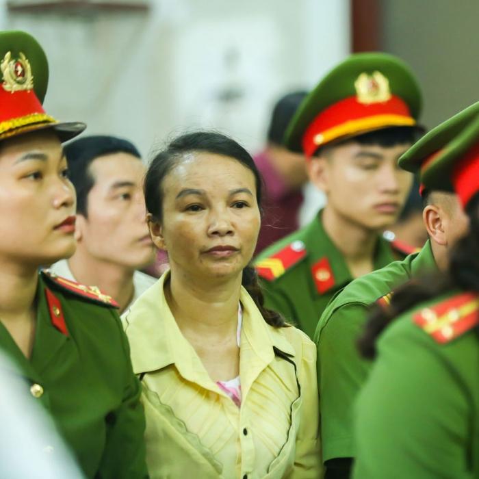 Bà Trần Thị Hiền - mẹ của nữ sinh Cao Mỹ Duyên